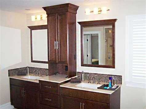 Bathroom Vanities With Storage Towers Bathroom Vanities With Towers Vanity With Storage Bathroom Design Pinterest