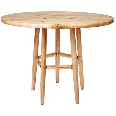 Five Point Round Dining Table In Maple By Max Greenberg Max Dining Table