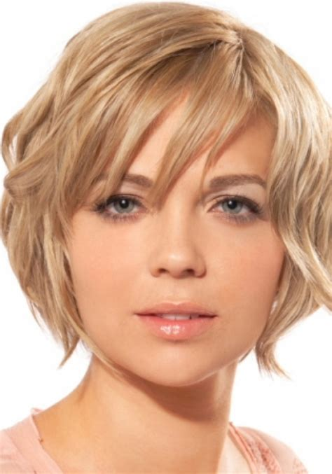 haircuts for thin faces pictures short hairstyles for round faces beautiful hairstyles