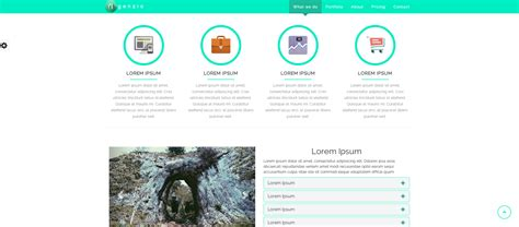 html5 responsive one page template agenzio one page html5 responsive template html