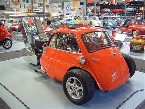 wheels racer micro car find of the day 1959 bmw isetta drag racer autoblog