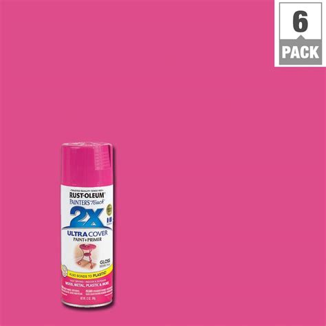 house spray painter rust oleum painter s touch 2x 12 oz berry pink gloss