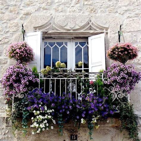 balcone fiorito balconi fioriti