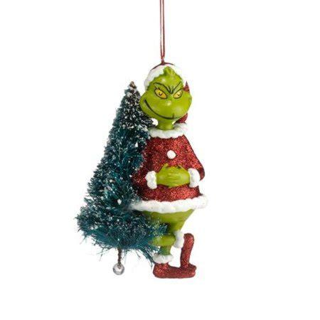 walmart movie theater tree ornaments department 56 grinch with sisal tree ornament 4 25 inch walmart