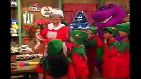 barney the backyard show part 1 barney waiting for santa www pixshark com images