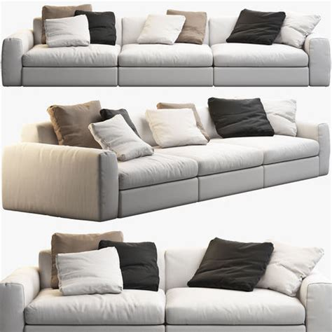 poliform sofa price list 3d poliform poliform dune sofas cgtrader