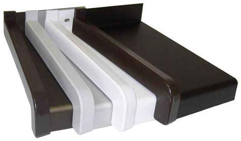 davanzale pvc davanzali trafilati di alluminio con il naso di 25 mm