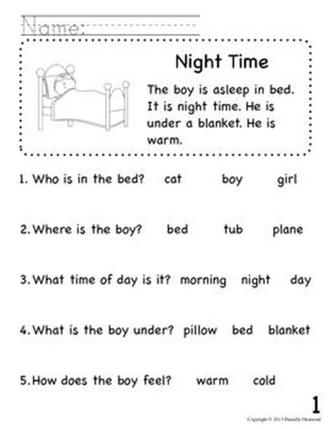 reading comprehension test beginner 84 best short reading comprehension passages images on