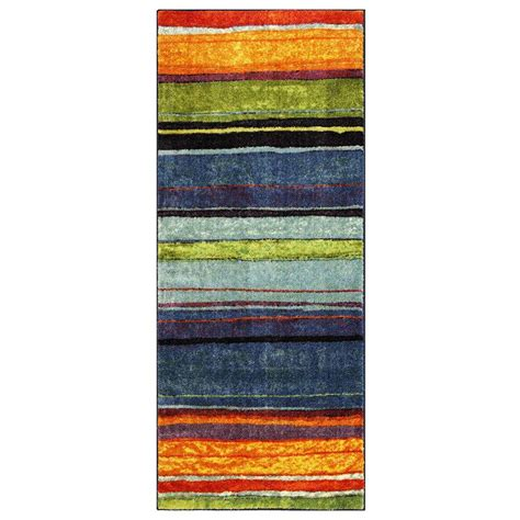 mohawk home rainbow multi 2 ft x 5 ft runner 207298