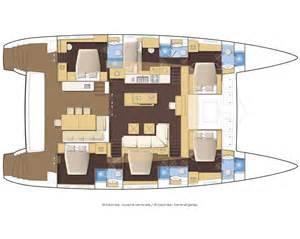 450 Sq Ft Floor Plan Lagoon 620 Catamaran Passage Nautical