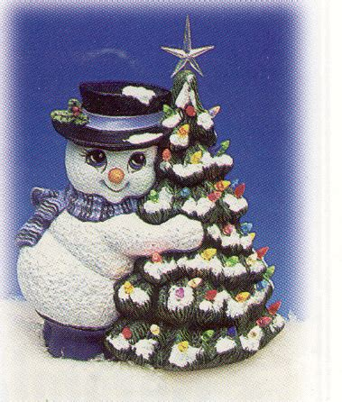 how to make a snowman tree hugger wcer3113