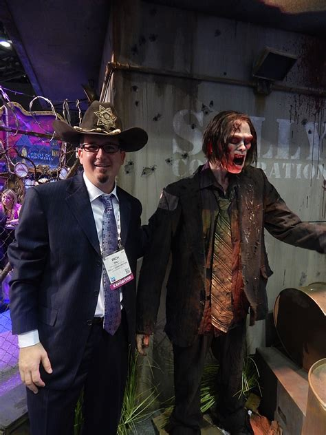Ride On To Walk 5 things we about the walking dead ride theme park