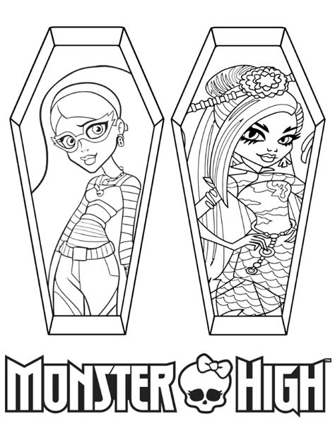 monster high logo coloring pages coloring pages monster high logo coloring page
