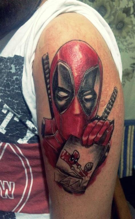 deadpool tattoos 17 best ideas about deadpool on dead