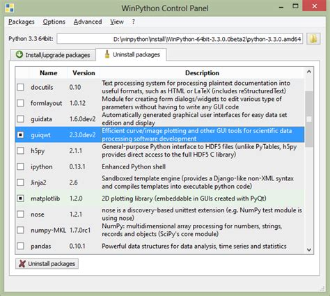 msys2 wiki packages sourceforge winpython wiki controlpanel