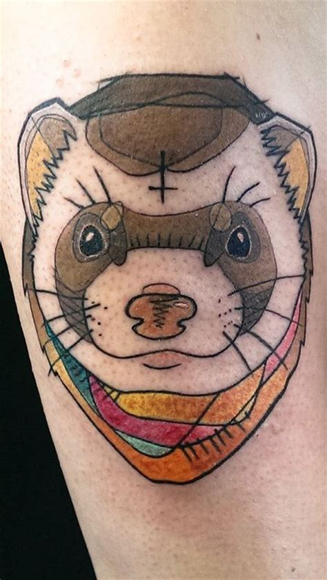 ferret tattoo designs 25 best ideas about ferret on ferrets