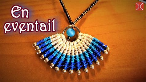 ci tutorial in hindi macrame necklace tutorial the simple en eventail pattern