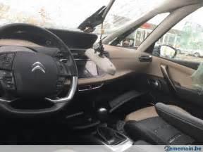 citroen c4 picasso 2015 interieur cuir kit airbag etc a vendre 2ememain be