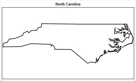 Simple Maps Can Go A Long Way Graphically Speaking Carolina Will Template