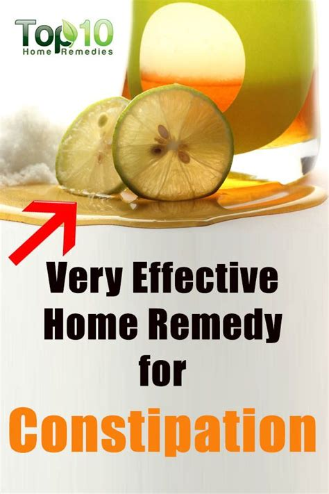home remedies for constipation salts the lemons and