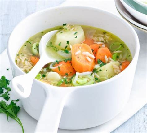 chunky winter vegetable soup recipe chunky vegetable brown rice soup recipe food