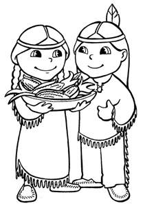 indian coloring pages american indian coloring pages