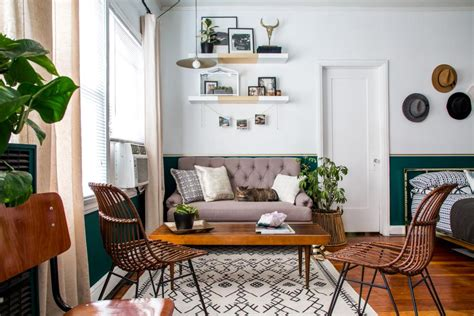 how to decorate small apartment a small studio apartment gets a large dose of function and
