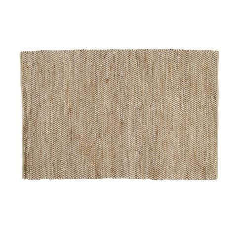 maison du monde teppich tapis en coton et jute 160 x 230 cm barcelone maisons du