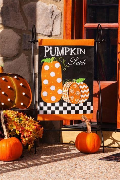 pumpkin patch burlap fall garden flag fall flags seasons