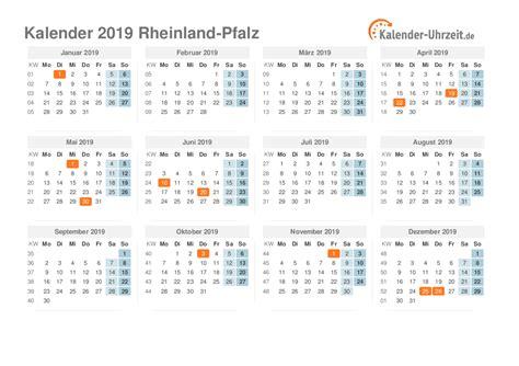 Kalender 2018 Feiertage Rheinland Pfalz Feiertage 2019 Rheinland Pfalz Kalender