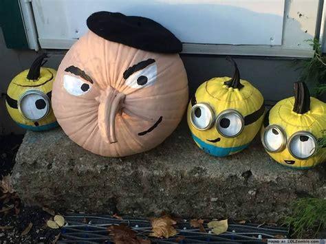Despicable Me 12 despicable me minion pumpkins