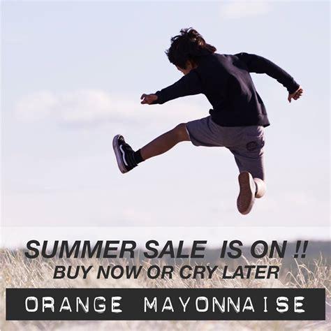 orange mayonnaise summer sale at orange mayonnaise les enfants 224 paris