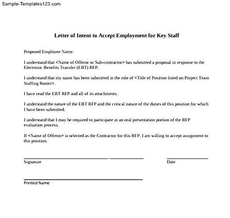 Letter Of Intent To Transfer Letter Of Intent For A Transfer Sle Templates