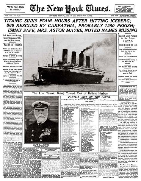 the sinking of the titanic 1912 100th anniversary of the sinking of the titanic vintage