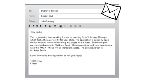 Email Cover Letter For Opening by Application Opening Email Application