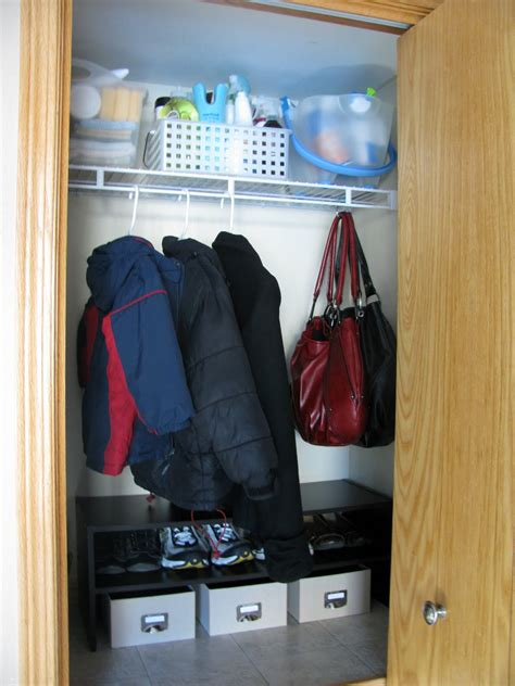 iheart organizing coat closet rev