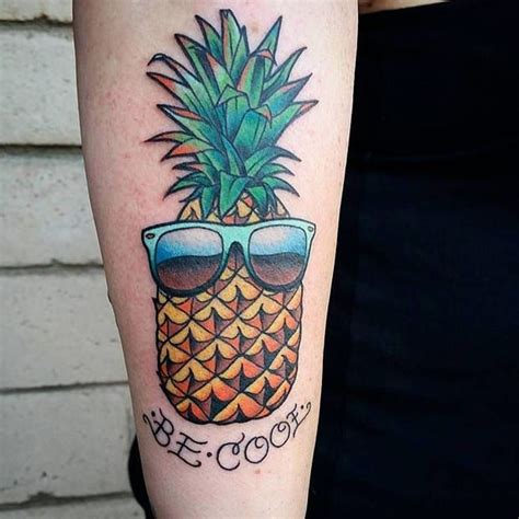 25 best ideas about pineapple tattoo on pinterest cute