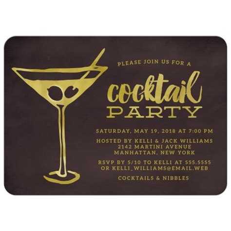 retro martini cocktail invitations retro martini