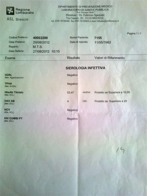 risultati test hiv test hiv lo fate page 24