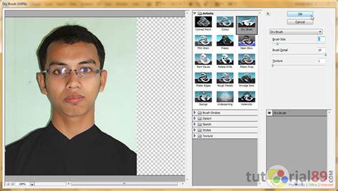membuat efek watercolor  photoshop video