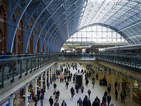 Bahnhof St Pancras by St Pancras Station Concourse E Architect