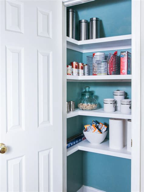 replace pantry wire shelving  tos diy