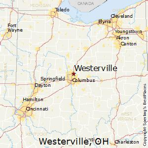 Westerville Ohio Map by Best Places To Live In Westerville Ohio