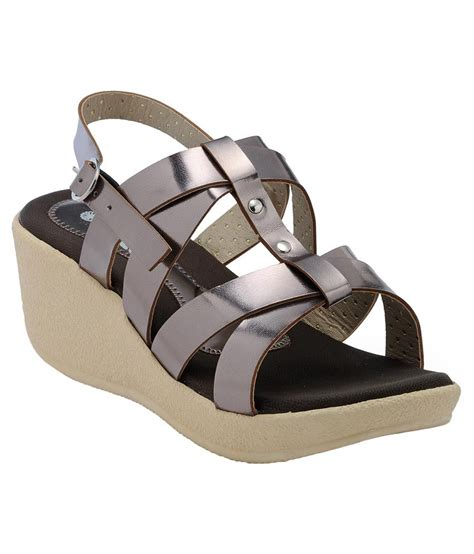Promo Wedges No1 Terjangkau nell silver wedges heels price in india buy nell silver wedges heels at snapdeal