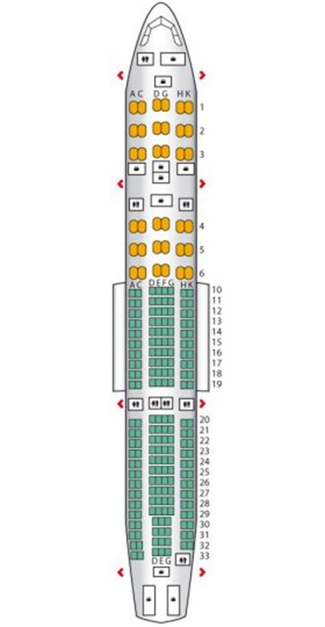 layout seat pesawat garuda airbus a330 200 garuda indonesia seat maps reviews