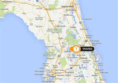 Lake County Fl Search Tavares Florida Map My