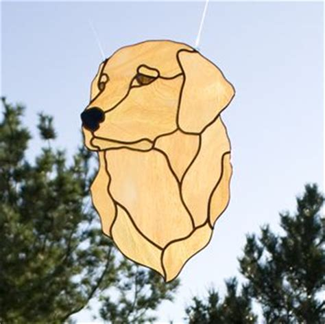 golden retriever stained glass pattern the world s catalog of ideas