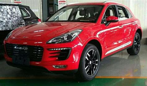 Porsche Macan China by China S Zotye Rolling Out Porsche Macan Knockoff