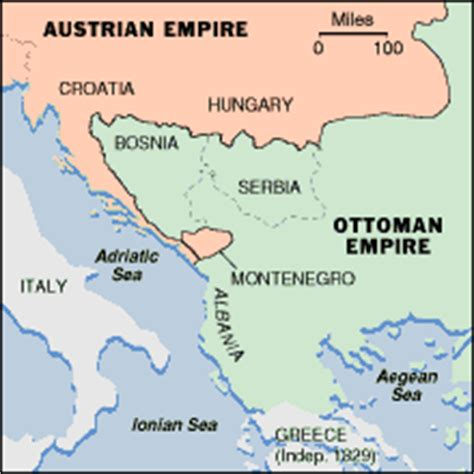 History Of Bosnia Ottoman Empire Balkans