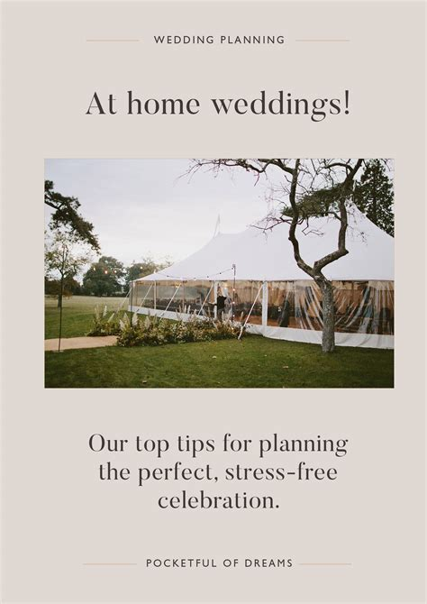 planning a wedding at home our top tips for at home weddings pocketful of dreams